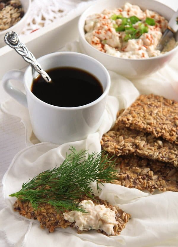 crisp bread 10 Easy Multi Seed Crispbread with Oats and Spelt Flour