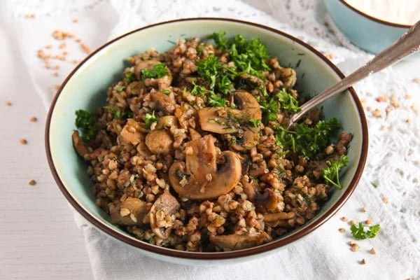 kasha 4 Roasted Buckwheat with Mushrooms and Onions – Polish Kasha