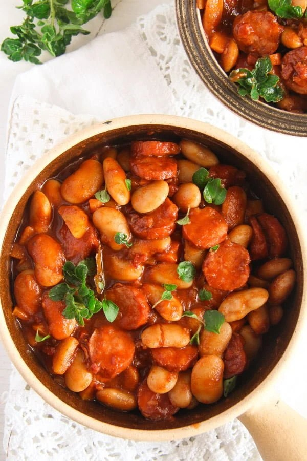 Easy white bean and cabanossi sausage stew polish recipe forumfinder Image collections