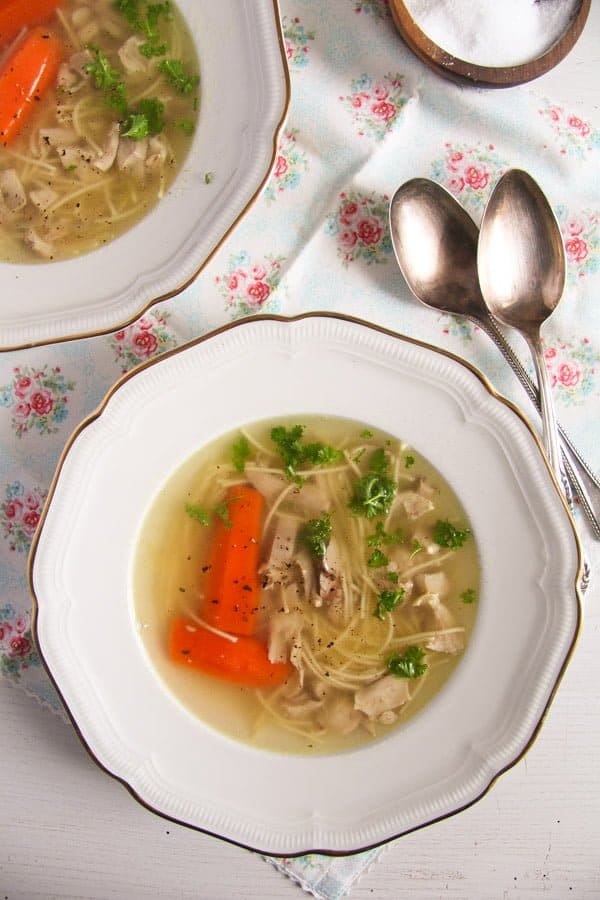 polish chicken soup 2 Basic Homemade Chicken and Vegetable Soup Recipe