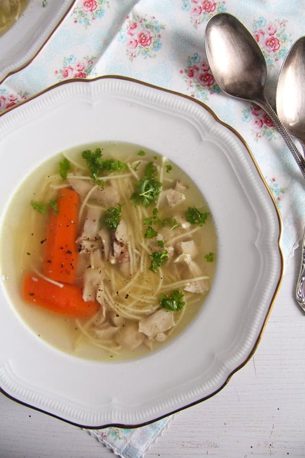 polish chicken soup 5 Basic Homemade Chicken and Vegetable Soup Recipe