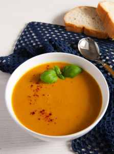 %name Sweet Potato Soup with Coconut Milk and Ginger