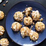 Easy and Spicy Carrot Cookies with Orange Icing