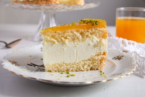 passion fruit cream cake 6 Passion Fruit or Maracuya Juice Cheesecake with Quark and Cream