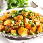vegan curry recipe with peas