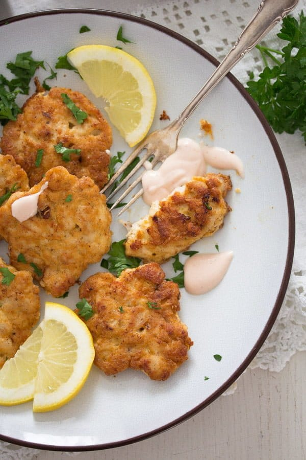 chicken fritters 5 Tender Chicken Breast Fritters or Patties– Russian Food