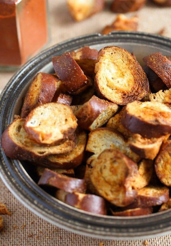pretzel chips 16 How to Make Pretzel Chips Using Leftover Soft Pretzels