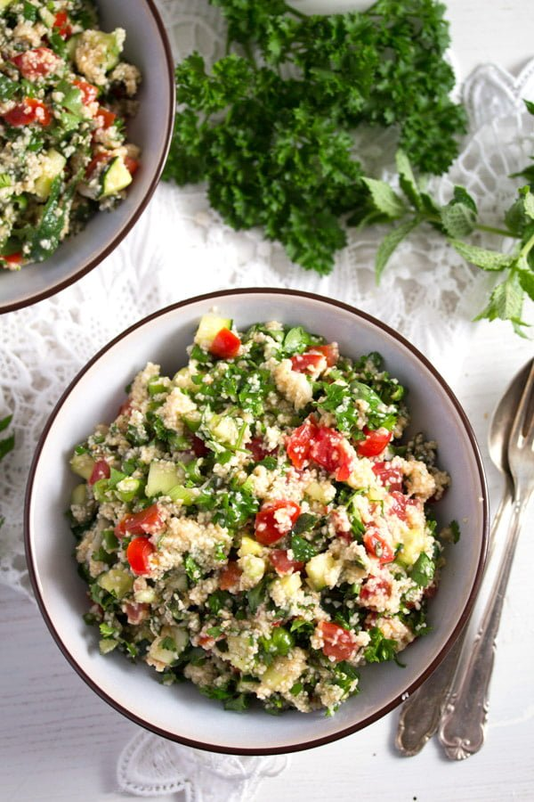 tabbouleh 4 Tabbouleh or Tabouli Salad with Parsley – Middle Eastern Recipe
