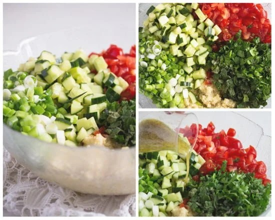 tabbouleh how to Tabbouleh or Tabouli Salad with Parsley – Middle Eastern Recipe