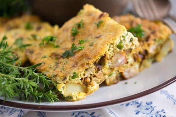 tunisian tajine 6 Tunisian Tajine – Frittata with Chicken and Potatoes – Tunisian Food
