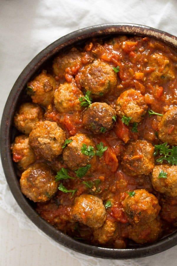 albondigas spanish meatballs 5 Albondigas – Spanish Meatballs in Tomato Sauce – Spanish Food