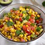 avocado salsa with corn