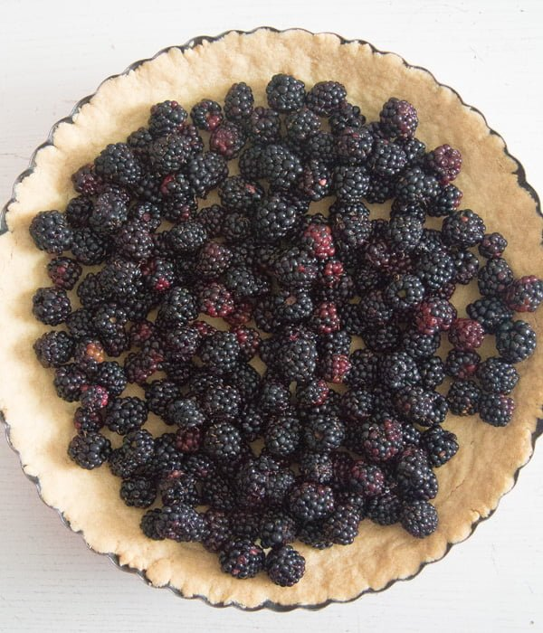blackberry pie recipe 6 Easy Crumb Crust Pie with Blackberries and Crumble Topping