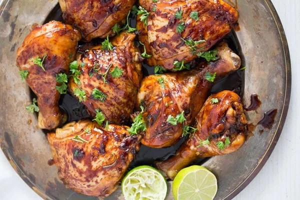chicken with lime 3 Roasted Lime Chicken with Honey Soy Sauce Marinade