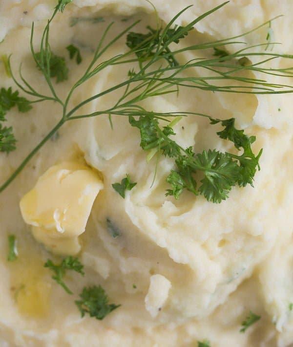 IMG 1763 Best Garlic Parmesan Mashed Potatoes – With Roasted Garlic