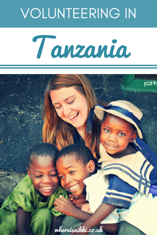 Volunteering at Newlands School and Orphanage in Tanzania