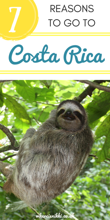 7 Reasons Costa Rica is on my Travel Wish LIst