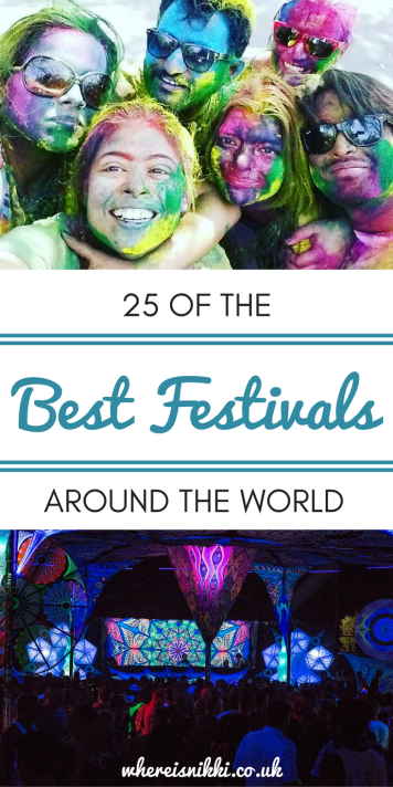 25 Travel Bloggers Reveal The Best Festivals Around The World
