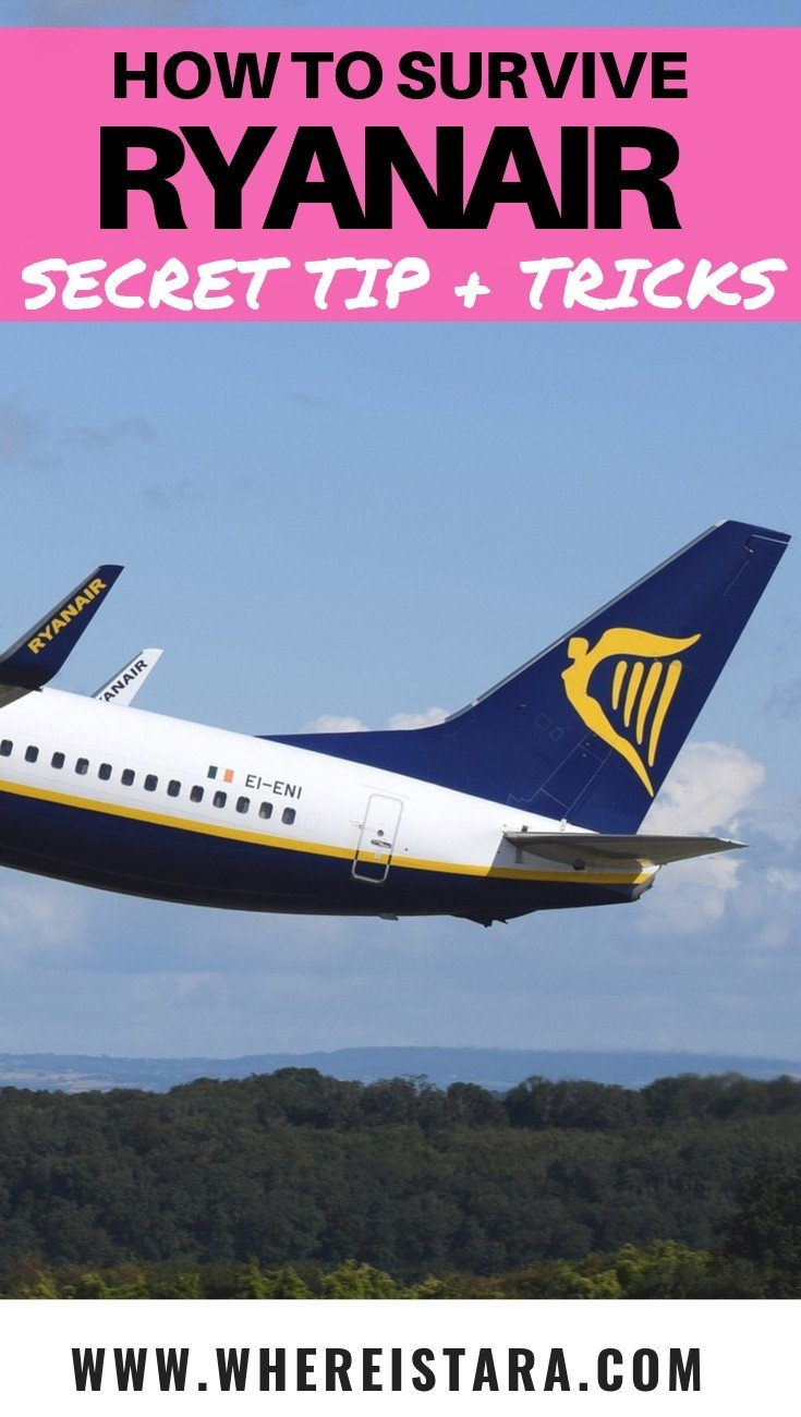 ryanair tips and tricks where is tara pin