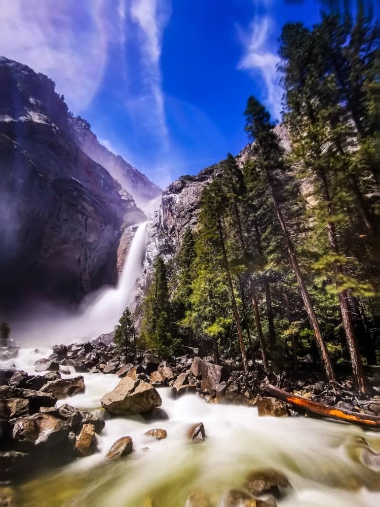 Yosemite Falls 2 days in Yosemite National Park Yosemite itinerary