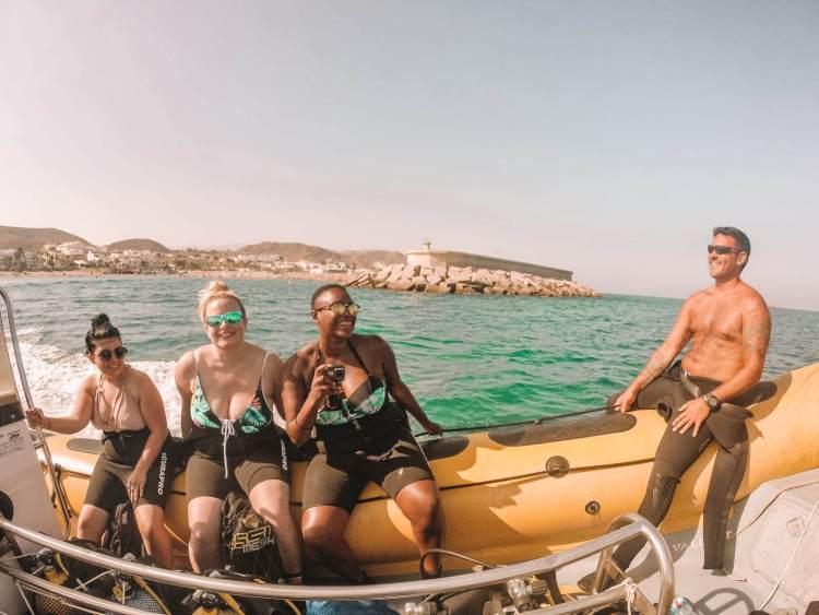 Diving in Mojacar Spain