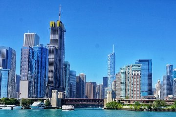 3 days in Chicago city break skyline