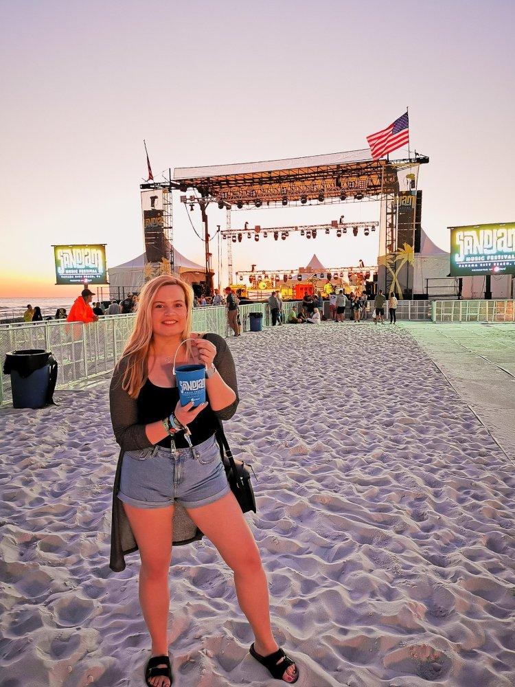Sandjam Festival at Panama City Beach Florida