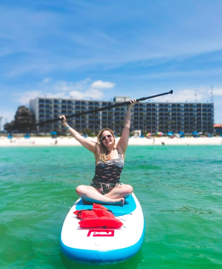 things to do in Panama City Beach SUPing