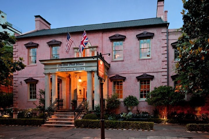 spooky things to do in Savannah best ghost tours in Savannah Olde Pink House