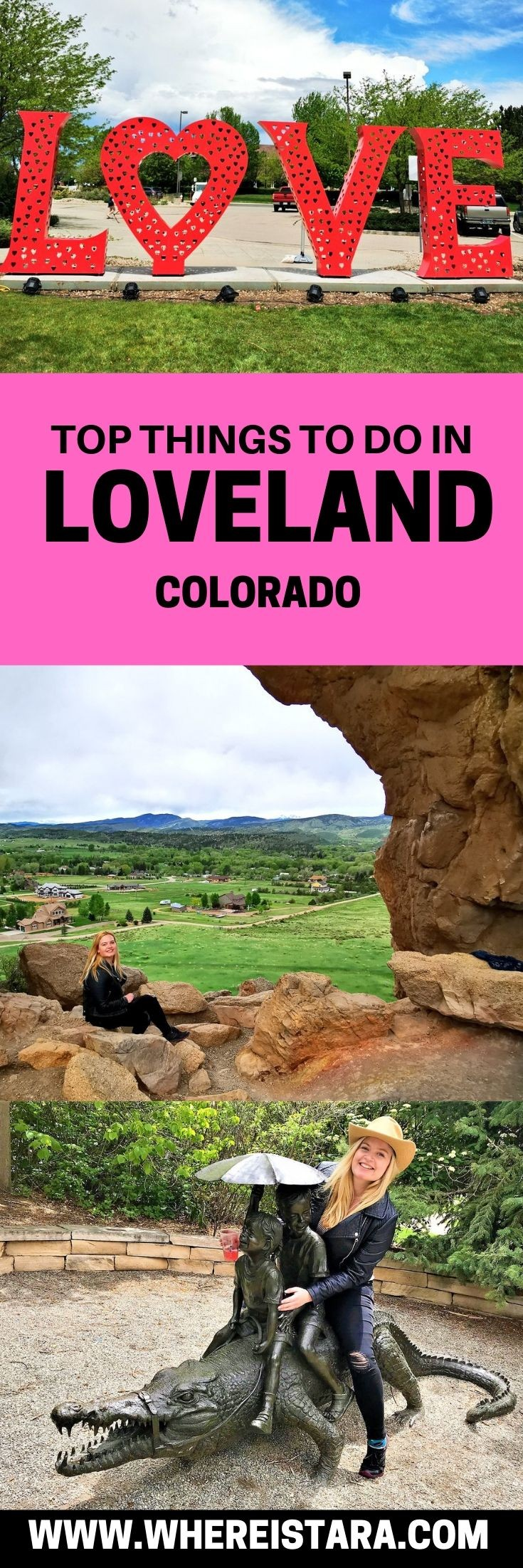 pin things to do in Loveland Colorado