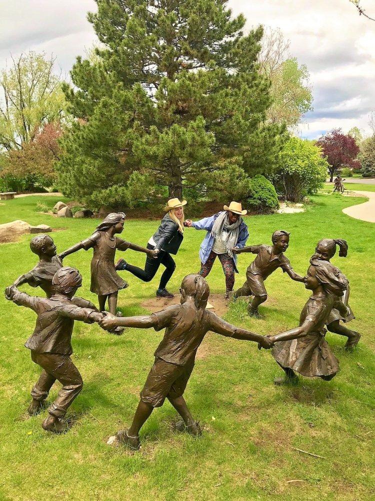 benson sculpture garden things to do in Loveland Colorado