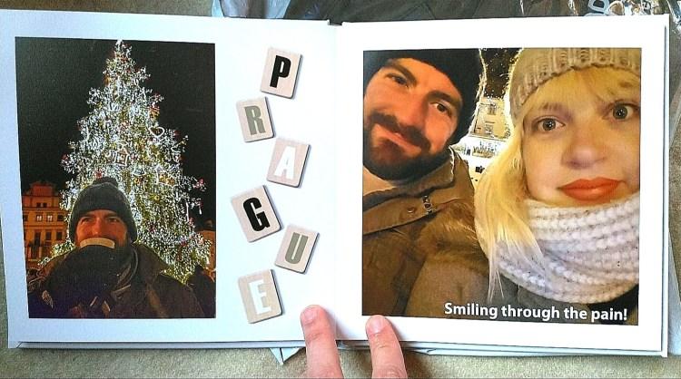 photo book me and Ali