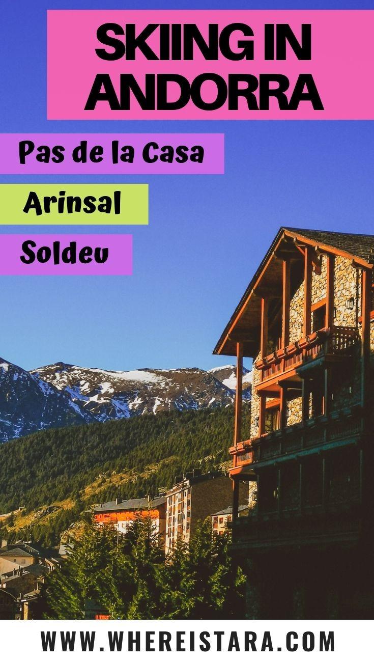 Andorra ski resprts Andorra ski holiday Arinsal Pas de la Casa