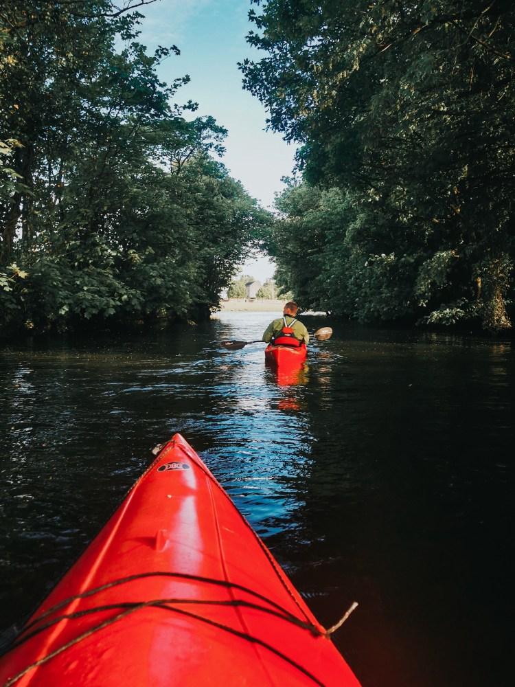 things to do in Mayo Ireland Wild Atlantic Way kayaking in Ballina