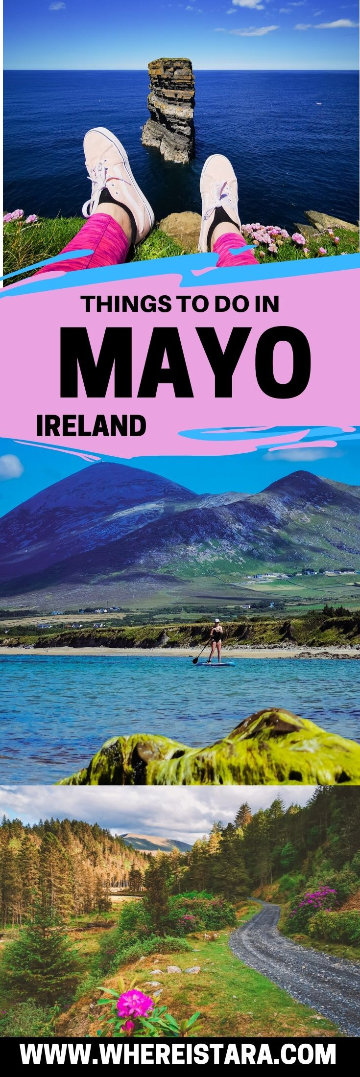 county mayo ireland pin