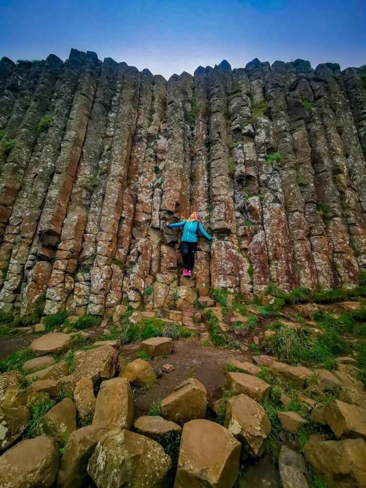 Giants causeway day trip from dublin basalt columns