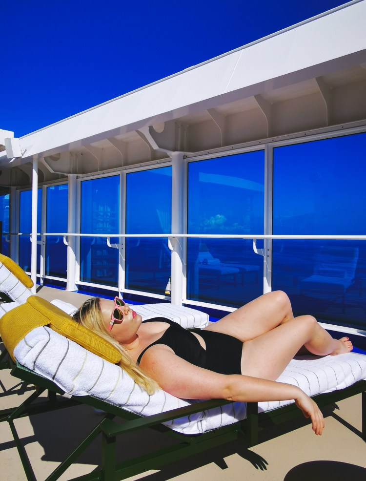 Sky Princess ship tour cruise review lotus spa