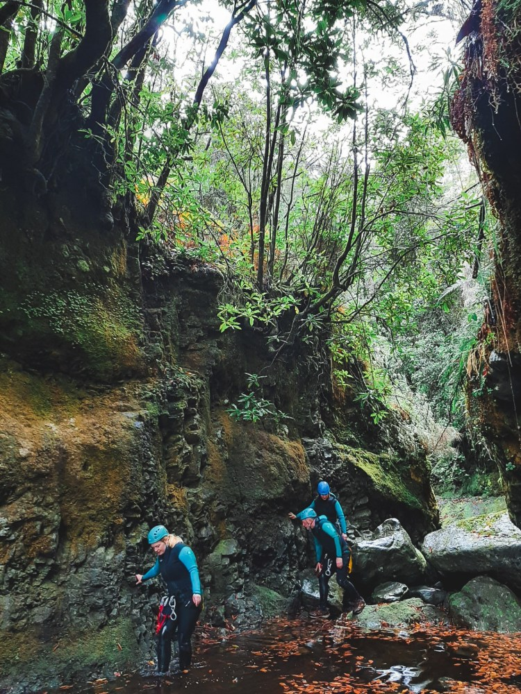 Canyoning Madeira 2 Madeira itinerary madeira 4 day itinerary day tours