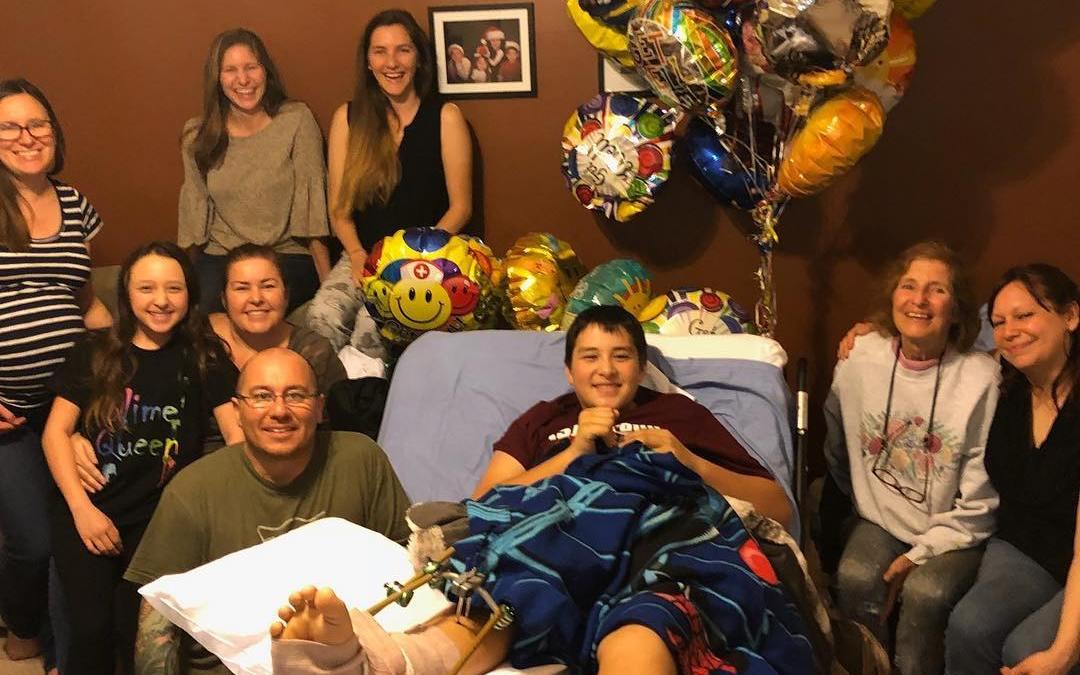 Florida Shooting Survivor Kyle Laman Says Single Bullet Nearly Tore Off His Foot