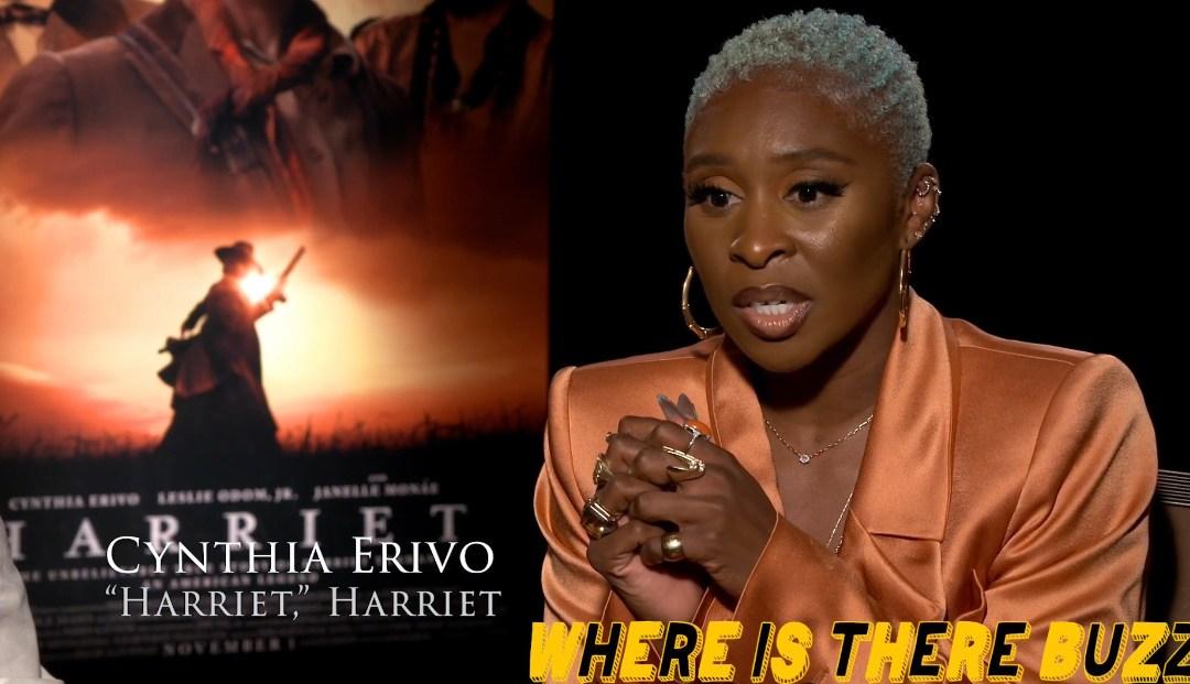 Kasi Lemmons, Cynthia Erivo, and Leslie Odom Jr Talk Harriet Film