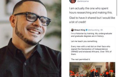 Shaun King Gets Accused Of Stealing Someone Content Off Twitter