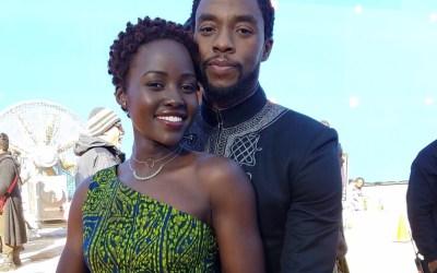 Lupita Nyong'o Pens a Beautiful, Heartfelt Tribute to Chadwick Boseman