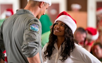 Kat Graham and Alexander Ludwig in 'Operation Christmas Drop' Official Trailer