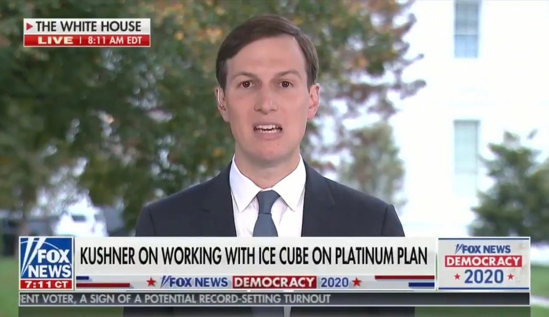 Does Jared Kushner Realize He Made A Racist Statement By Implying That Black People Aren't Successful Because They Don't Want To Be?