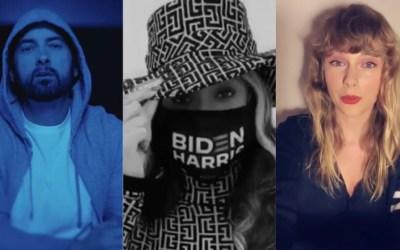 Beyoncé, Taylor Swift and Eminem Endorse Joe Biden for President