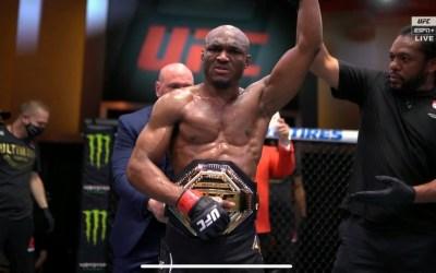 Kamaru Usman Beats Gilbert Burns By TKO To Retain The UFC Welterweight Championship