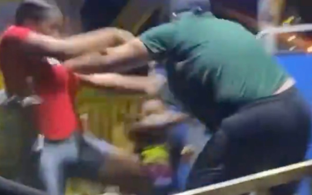 Opa Locka Hialeah Flea Market Carnival Employee Physically Assaults Co-Worker and Customer