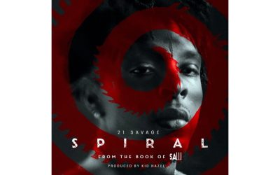 "21 SAVAGE DROPS FIRST SINGLE ON SPIRAL: FROM THE BOOK OF SAW SOUNDTRACK ""SPIRAL"""