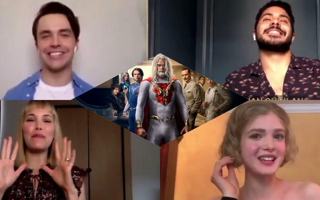 Jupiter's Legacy Cast Interviews: Elena Kampouris, Ian Quinlan, Andrew Horton and Leslie Bibb