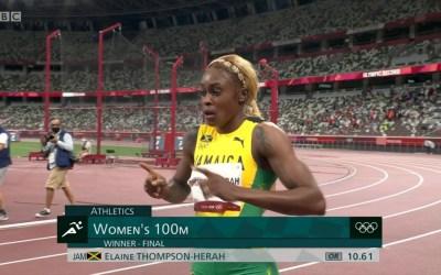 Elaine Thompson-Herah Breaks Florence Griffith Joyner's 33-Year-Old 100M Olympic Record
